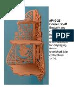 DP10-25 Corner Shelf