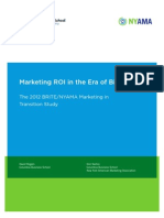 2012 Brite Nyama Marketing Roi Study