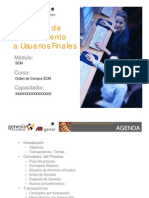 Presentacion SCM - Orden de Compra