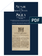 1811 Gould Francis LECKIE Memoir on the Present State of Sicily