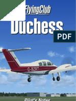 FS Duchess Manual