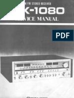 Pioneer SX1080 Service