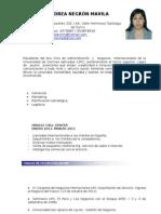 ANDREA NEGRÓN-Curriculum por logros