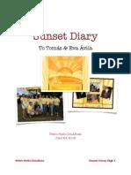Sunset Diary