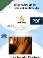 Las 28 Creencias de los Adventistas del Séptimo