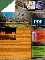 Boletín Informativo Mercados Eléctricos_LKVA Ingenieros_Nro. 003