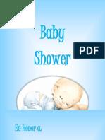Baby Shower Stefany