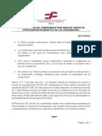 Resolución de condiciones a Telcel