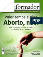 Reformador agosto / 2007 (revista espírita)