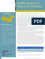 China - Health impacts of indoor air pollution