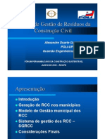 5x Forum 030609 Sistema de Gestxo de RCC