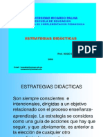 Estrategia s Didactic As