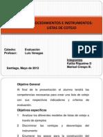 Disertacion Listas de Cotejo V2