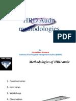 HRD Audit Methodologies