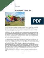Mount Pleasant Community Church VBS #Proho