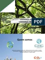GHG AMBIENTAL - SOLUÇÕES MEIO AMBIENTE, SOLAR, EOLICA, AGUA, CREDITO DE CARBONO, REDD, CO2