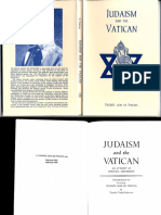Judaism and the Vatican (1967) Vicomte Leon de Poncins