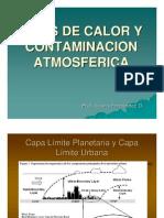 Islas de Calor y Contaminacion Atmosferica