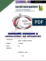 Examenes de Concreto Armado I