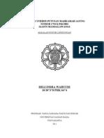 Analisis Yuridis Putusan Mahkamah Agung (Kasus Mandalawangi)