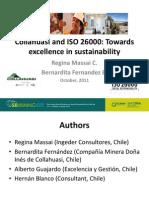 Presentación de ISO26000 en Mina Doña Inés de Collahuasi