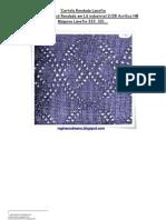 48) Cartela Rendada Lanofix em Lã industrial 2.28 Acrílico HB-nº 142