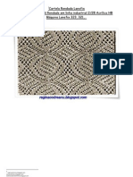 49) Cartela Rendada Lanofix em Lã industrial 2.28 Acrílico HB-nº 147