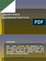 Material Unidad 1 Auditoria Administrativa
