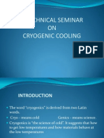 Cryogenic Cooling