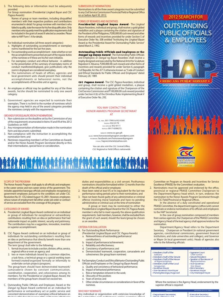 HAP2012brochure_0215 | Mayor | Civil Service