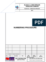 Bb.g Vsp Pve Ed 00 Pm Pro 008 Numbering Procedure Rev 0