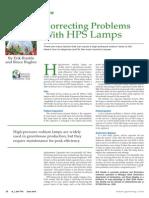 Correcting HPS Problems
