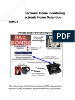 A Flaw in Electronic Home Monitoring