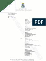 Diffida Comune di Seveso a FNM e Risposta FNM