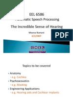 ASP Hearing 2007