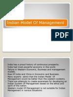 Indian Model of Management