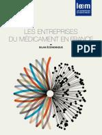 Bilan Economique des Entreprises du Médicament - 2011