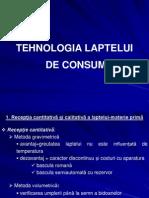 TEHNOLOGIA LAPTELUI  DE CONSUM