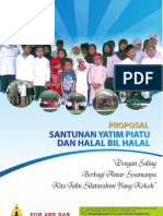 Proposal Santunan Yatim Piatu & Halal Bil Halal Tahun 2011