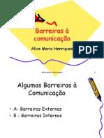 6 - Barreiras à comunicação