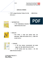 Libros 2º ciclo