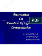 Presentation on Effective Communication