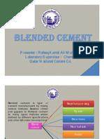 Blended Cement