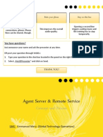 Operations Essentials - Agent Server vs Remote Services