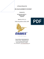 Hotel Management System Report