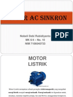 Motor Ac Sinkron