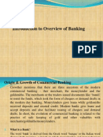 1. Introduction to Overview of Banking