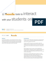6 12 Moodle Tools to Interact With Your Students Online