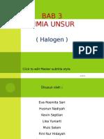 Bab 3 Unsur Kimia (Halogen) Xii Ipa 2 2
