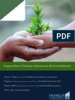 Informator 2012 - Studia MBA dla Firm Rodzinnych - Wyższa Szkoła Bankowa w Poznaniu